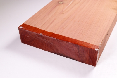 Board Eastern Red Cedar 300x145x35mm - Zed0181
