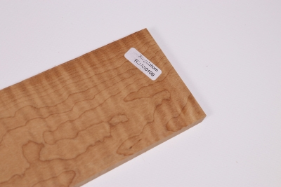 Guitar Fingerboard Termo Curly Maple 510x70x10mm - RieAh0109