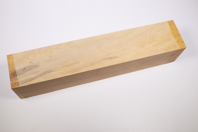 Kantel weisses Ebenholz, white Ebony 305x60x60mm