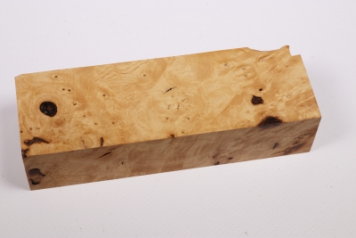 Knife Block Ash Burl - Esch0158