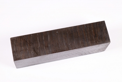 Knife Blank Bog Oak stabilized Xcut - Stabi1647
