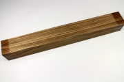 Square Zebrawood 405x45x45mm