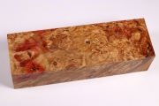 Knife Blank Box Elder Maple Burl...