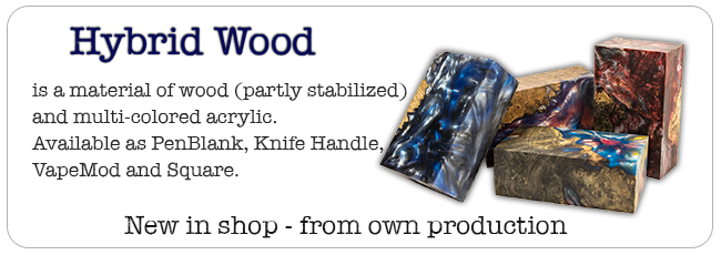 Hybridwood - new in shop from our inhouse production