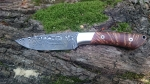 Damastknife with Karelian Masurbirch - Stefan Mauder