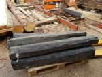 Hard and soft - Ebony and Poplar Burl at the sawmill