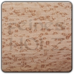 Precious wood of the month: Birds Eye Maple - 20% discount