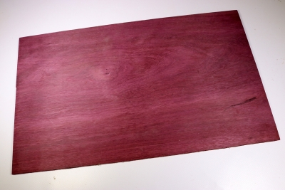 Purple Heart Saw Cut Veneer 455x275x5mm - SaeFu0056