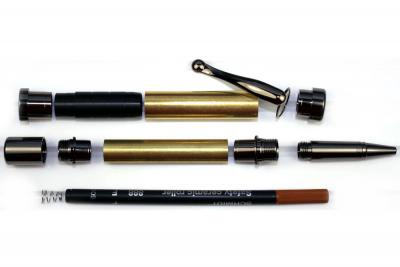 Chevalier Rollerball Pen Kit Gun Metal