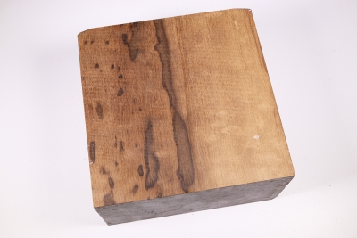 Block Imbuya Burl 150x150x80mm - ImbuM0389