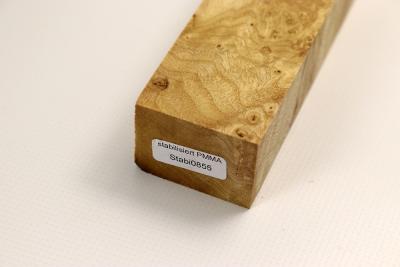 messergriffblock esche maser stabilisiert stabi0855 feines holz. Black Bedroom Furniture Sets. Home Design Ideas