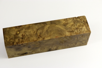 Knife Blank Laurel Burl stabilized - Stabi1289