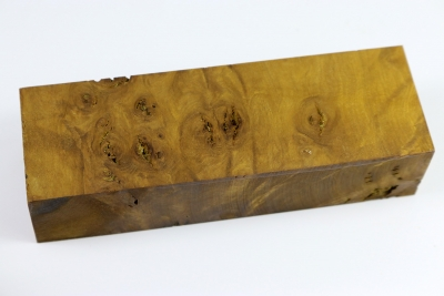 Knife Block Musk Burl - MuskM0023