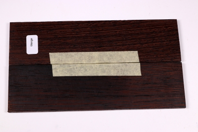 Razor / Folder Knife Scales Wenge