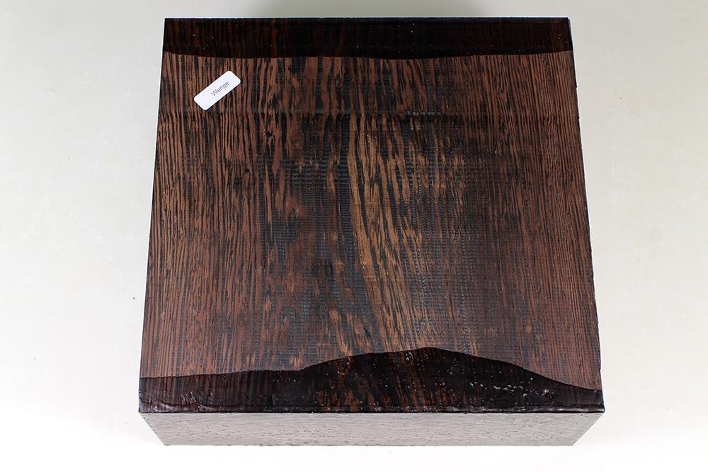 block wenge 215x215x80mm feines holz. Black Bedroom Furniture Sets. Home Design Ideas