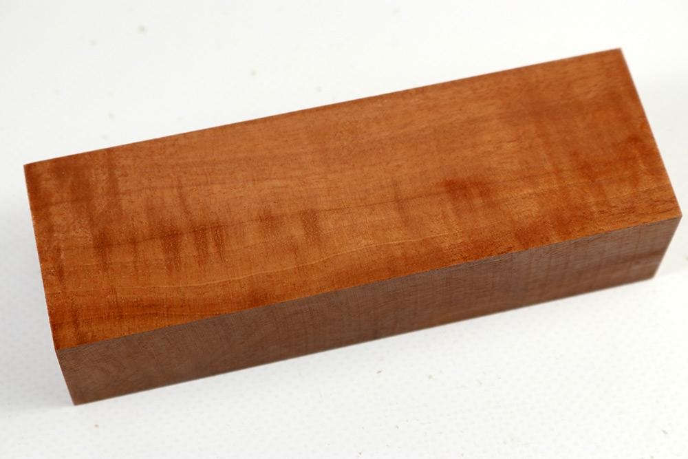 messergriffblock red milkwood curly milk0028 feines holz. Black Bedroom Furniture Sets. Home Design Ideas
