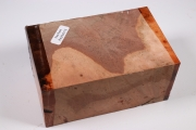 Block Red Resin Burl 125x80x60mm...