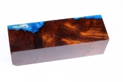 Knife Blank HybridWood Desert Ir...