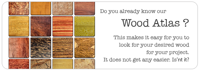 The FeinesHolz Wood Atlas - Find the right wood by appearance!